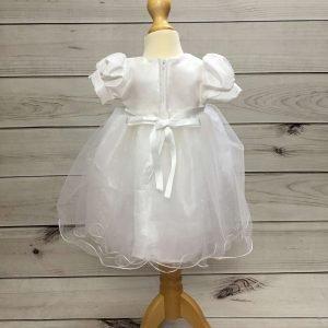 Grace White Glitter Dress 3