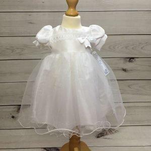 Grace White Glitter Dress