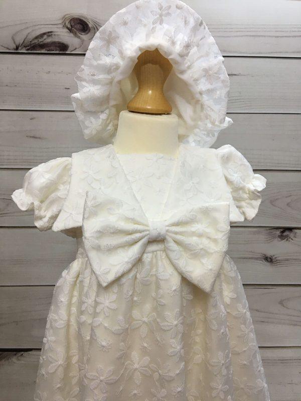 Juliette Ivory Lace Dress 4