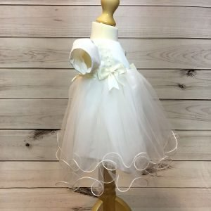 Lousie Ivory Bow Dress 2