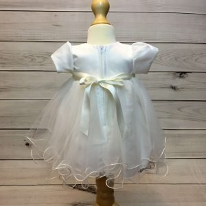 Lousie Ivory Bow Dress 3