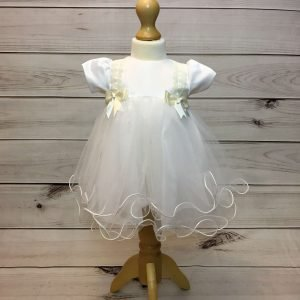 Lousie Ivory Bow Dress