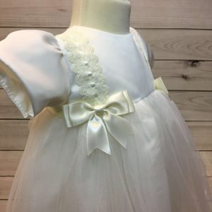 Lousie Ivory Bow Dress 4