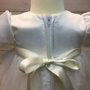 Lousie Ivory Bow Dress 5