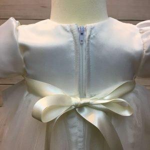 Lousie Ivory Bow Dress 5