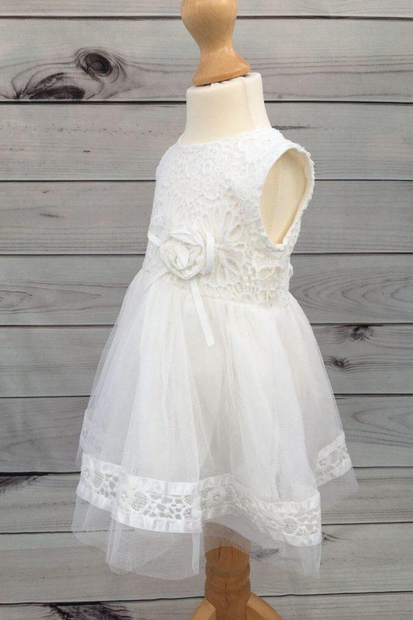 Mintini baby dress with headband 2