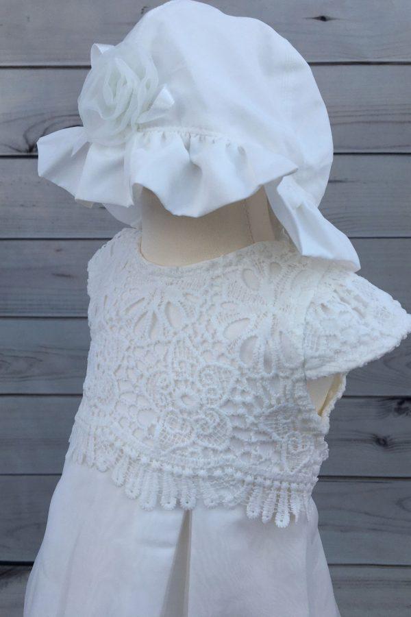 Mintini baby dress with headband 3