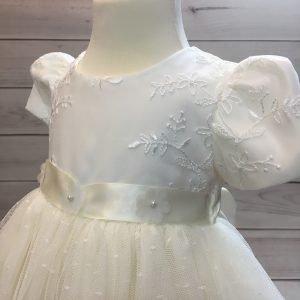Olivia Ivory Christening Dress 2