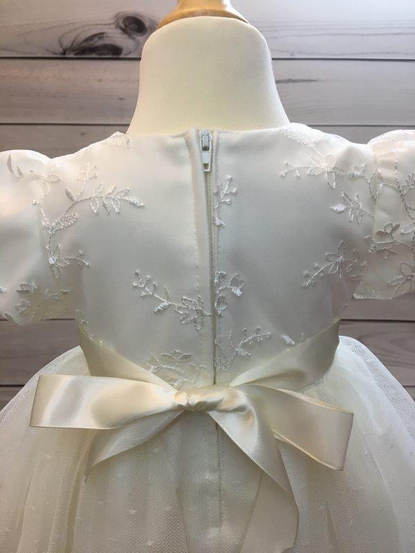 Olivia Ivory Christening Dress 3