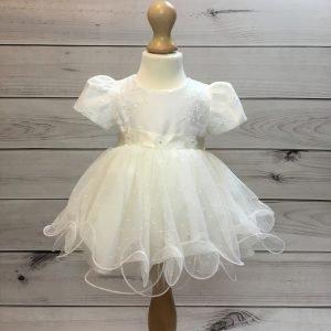Olivia Ivory Christening Dress
