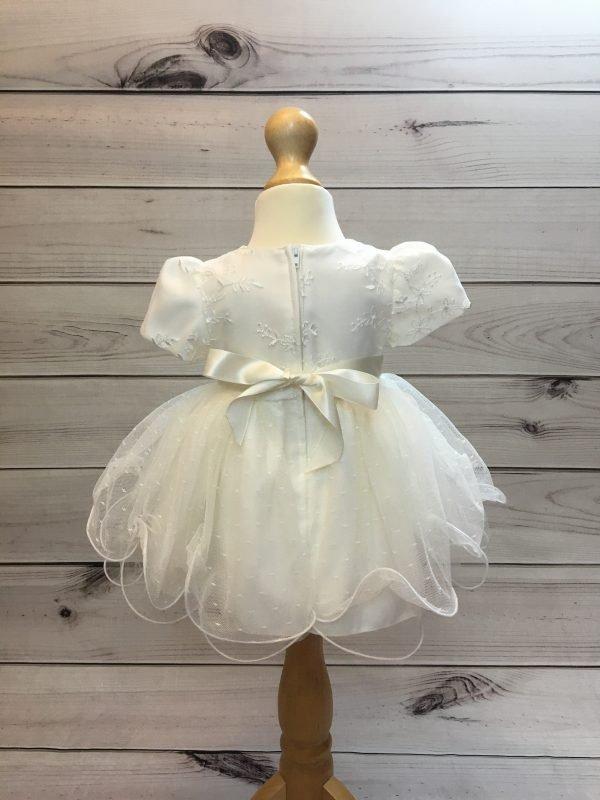 Olivia Ivory Christening Dress 4