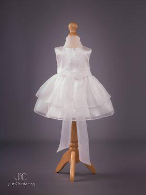 Sophie Christening Dress in Ivory back