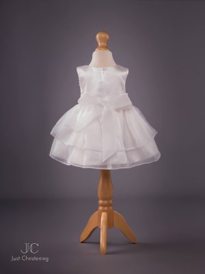 Sophie Christening Dress in Ivory bck