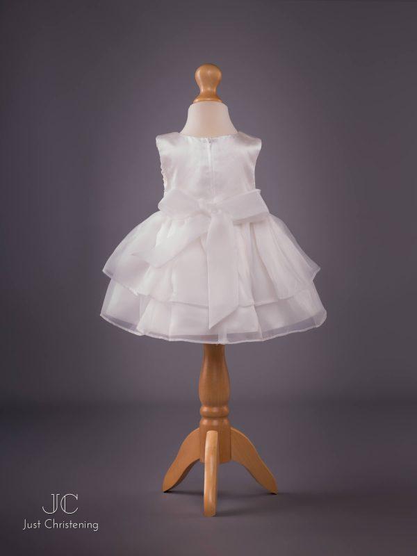 Sophie Christening Dress in Ivory bck