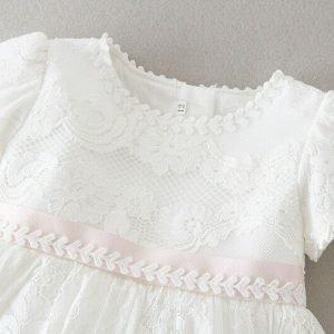 michelle christening dress for baby girls 5
