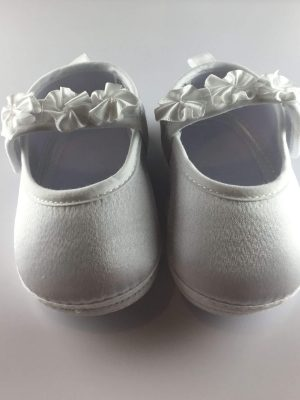 Baby Girls Flower Strap First Shoes