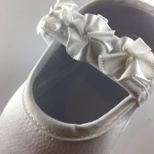 Baby Girls Flower Strap First Shoes strap