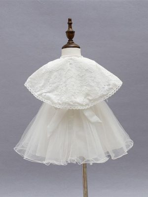 Ella vintage style 3 piece christening dress 1