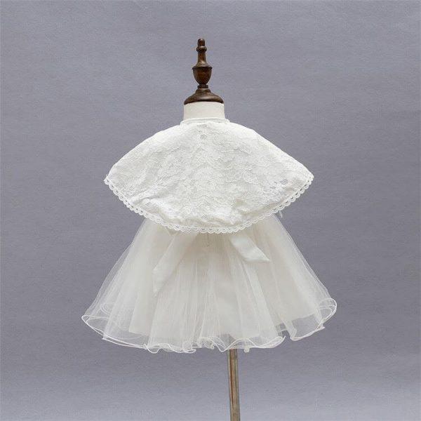 Ella vintage style 3 piece christening dress 1