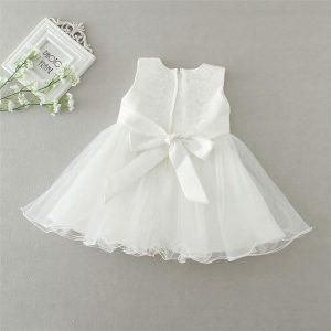 Ella vintage style 3 piece christening dress 3