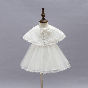 Ella vintage style 3 piece christening dress