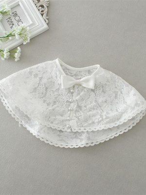 Ella vintage style 3 piece christening dress 4