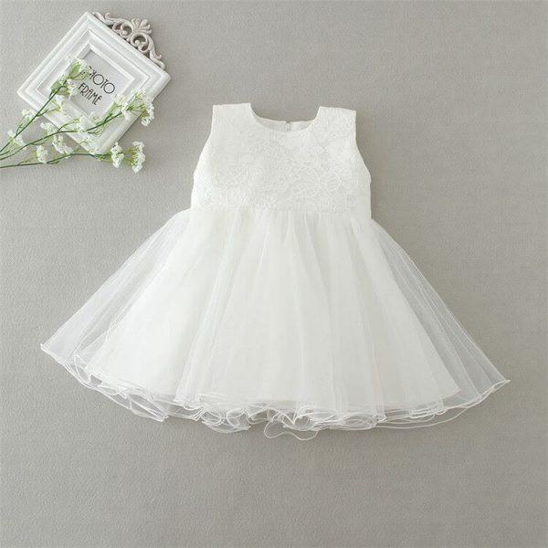 Ella vintage style 3 piece christening dress 6