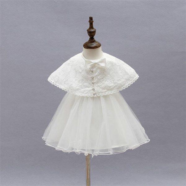Ella vintage style 3 piece christening dress
