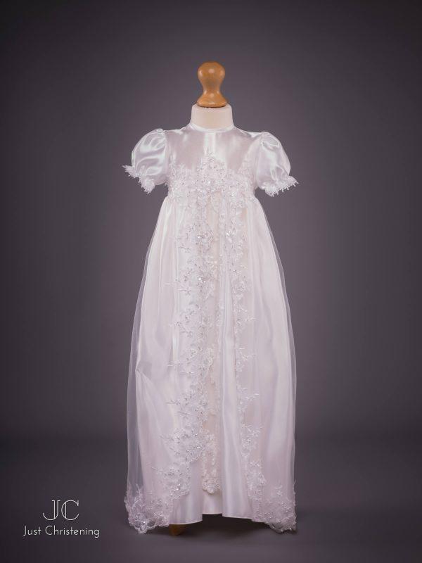 girls christening dress white eva rose