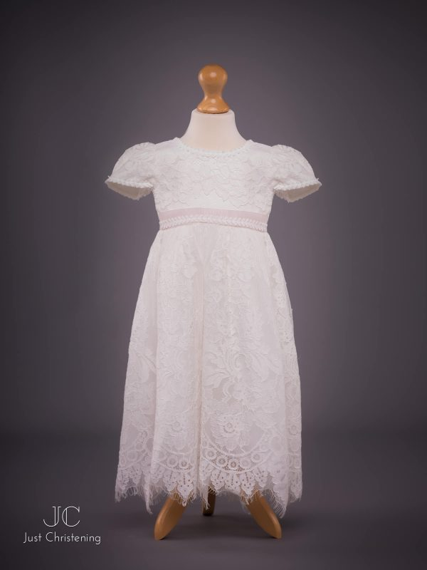 Michelle baby Christening dress Front