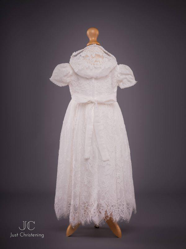 Michelle baby Christening dress bonnet