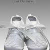 boys white christening soft boots