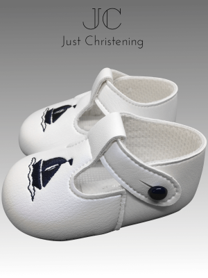 boys white sailor christening shoes1