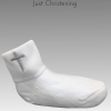 White cross socks single