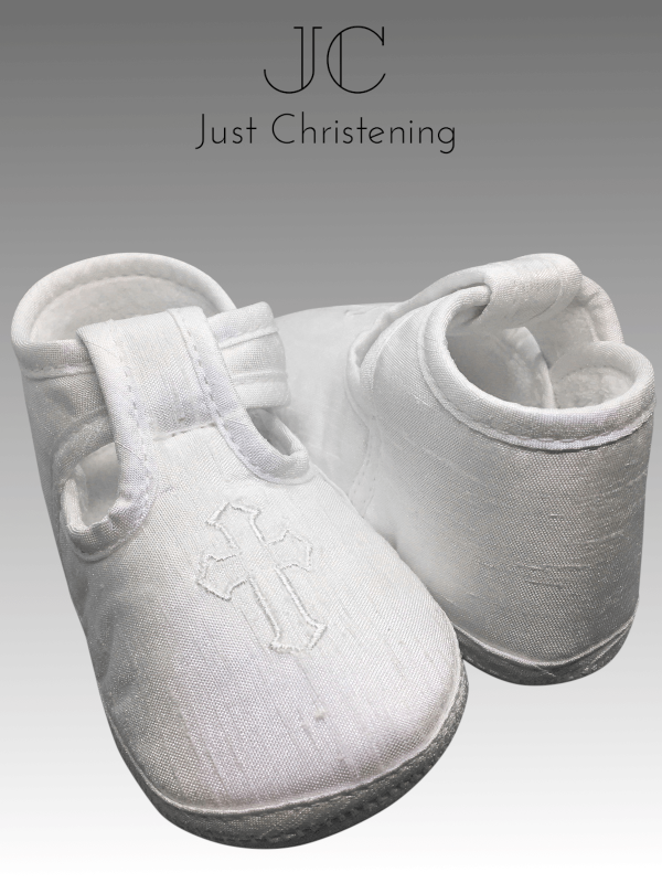 boys white cross boots