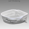 My christening day headband white