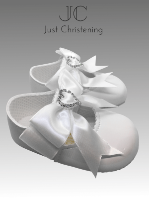christening white shoes diamante heart 2