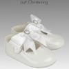 diamante circle shoes girls christening